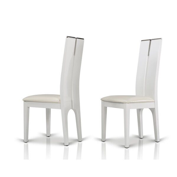 Clower Wood Side Chair (Set of 2) by Orren Ellis