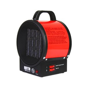 Portable Ceramic 1500W Electric Fan Compact Heater by Hetr