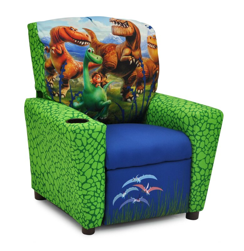 Disneyu0027s the Good Dinosaur Kids Recliner with Cup Holder  sc 1 st  Wayfair & KidzWorld Disneyu0027s the Good Dinosaur Kids Recliner with Cup Holder ... islam-shia.org