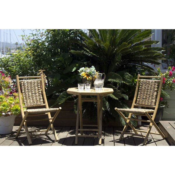 Enprise 3 Piece Indoor/Outdoor Bistro Set by Bay Isle Home