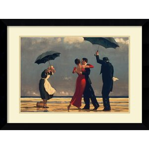 'The Singing Butler' by Jack Vettriano Framed Painting Print by Amanti Art