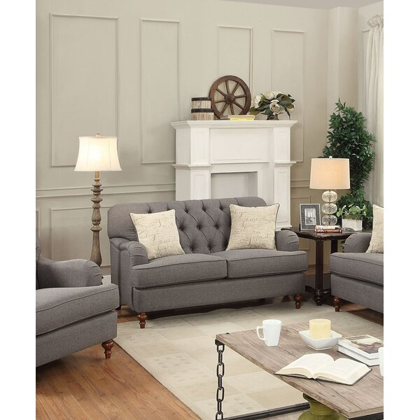 Diep Loveseat with Pillow by Darby Home Co