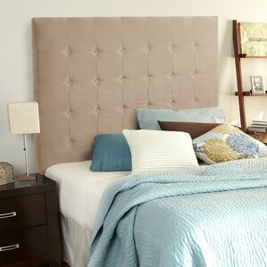 Dublin Upholstered Panel Headboard by Alcott Hill