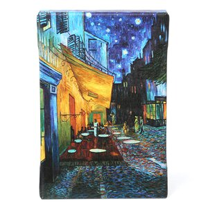 The Cafe Terrace on the Place Du Forum Arles by Vincent Van Gogh Painting Print on Wrapped Canvas by ArtWall