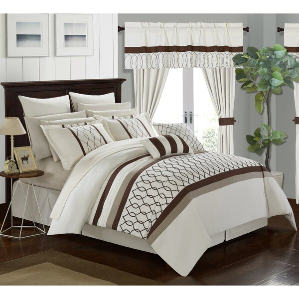 Meredith 24 Piece Comforter Set