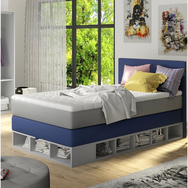 Extra Long Twin Platform Bed with Mattress by Zoomie Kids