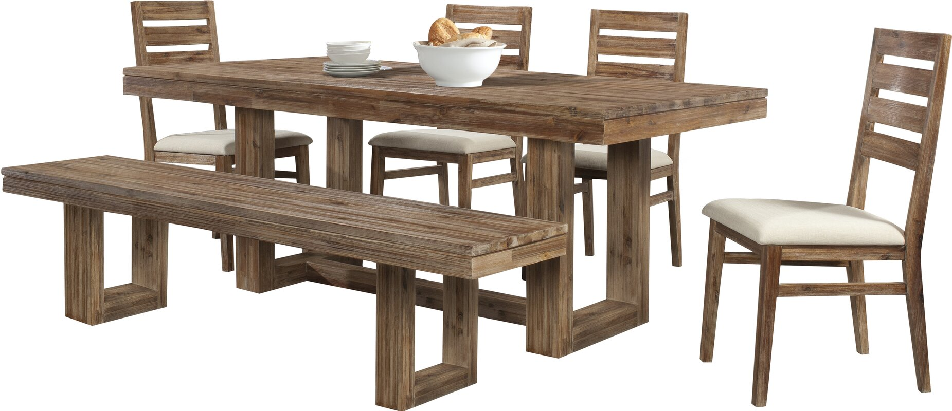 100 6 piece dining room set signature design by ashley lace