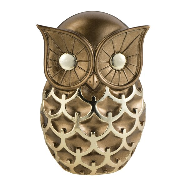 Mystic Owl Decorative Figurine by OK Lighting
