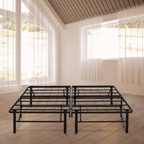 Black Metal Platform Bed Frame by Symple Stuff