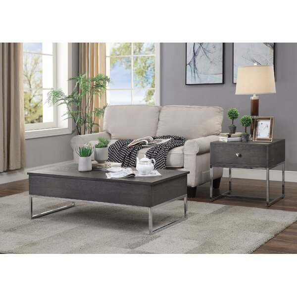 Britten Coffee Table With Tray Top And Storage By Brayden Studio