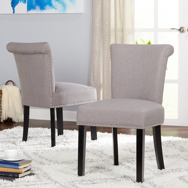Hubler Upholstered Dining Chair (Set of 2) by Mercer41