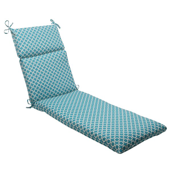 Hockley Indoor/Outdoor Chaise Lounge Cushion by Pillow Perfect