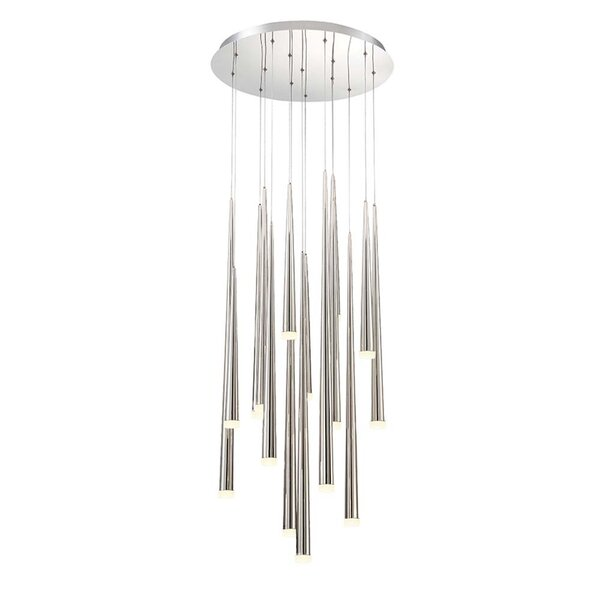 Cascade 15 - Light Unique / Statement Tiered LED Chandelier by Modern Forms Modern Forms