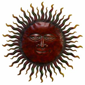 Sun Wall Art metal sun wall art | wayfair