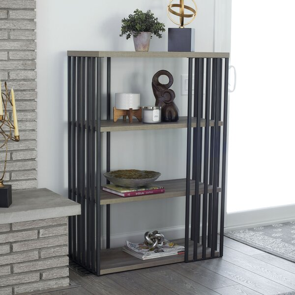 Dulin Standard Bookcase By Wrought Studio