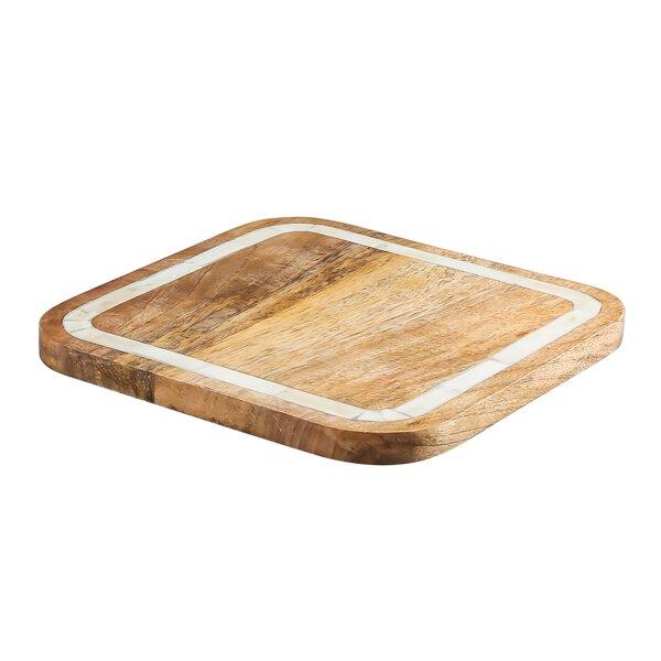 Mango Wood Bone Square Trivet by Thirstystone