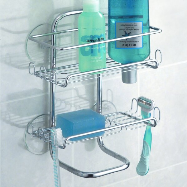 Espana Shower Caddy by Rebrilliant