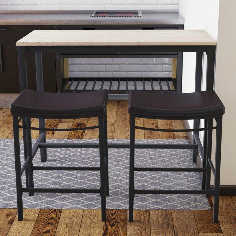 Trent Austin Design Bezons 3 Piece Pub Table Set & Reviews | Wayfair