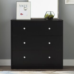 Reviews Conder 3 Drawer Chest by Mercury Row