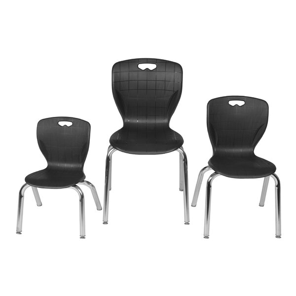 Andy Stack Plastic Classroom Chair by Regency