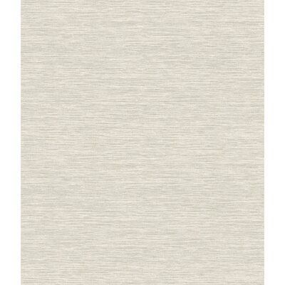 York Wallcoverings Challis Woven Wallpaper Colour: Beige