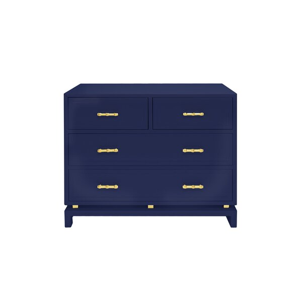 4 Drawer Accent Chest by Worlds Away Worlds Away