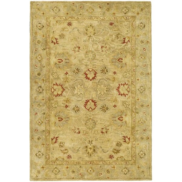 Rayna Brown/Beige Area Rug by Darby Home Co