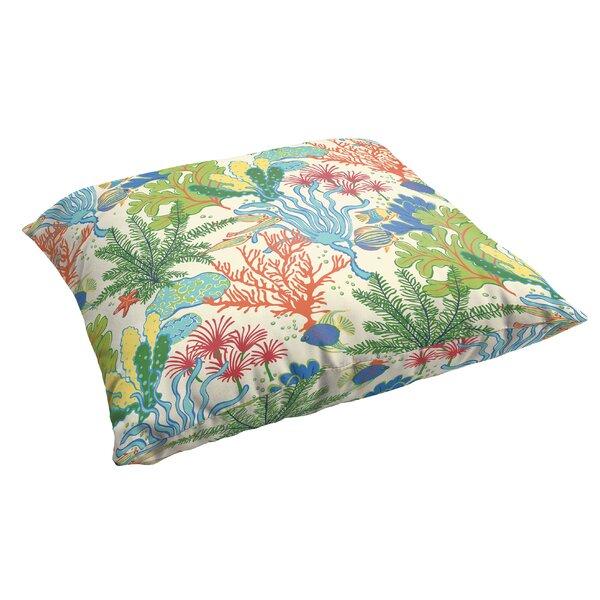 Evadne Corded Indoor/Outdoor Floor Pillow by Bayou Breeze