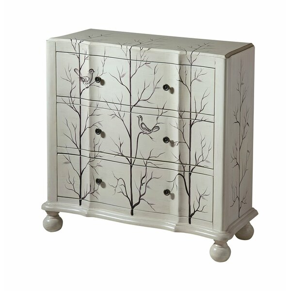 Andrea 3-drawer Standard  Chest By One Allium Way