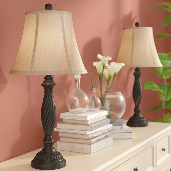 Carnlough 27 Table Lamp (Set of 2) by Three Posts