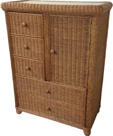 Watkins 5 Drawer Gentlemans Chest by Bay Isle Home
