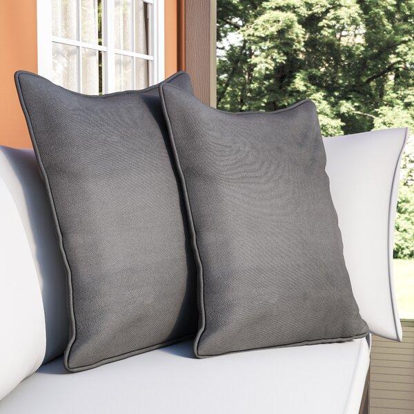 Borowski Solid Floor Pillow (Set of 2) by Zipcode Design