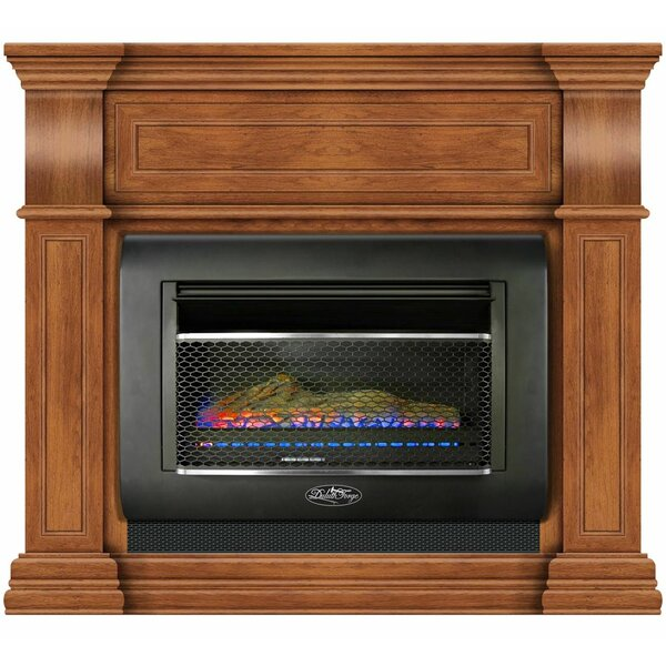 Hearth Vent Free Propane/Natural Gas Fireplace By Duluth Forge