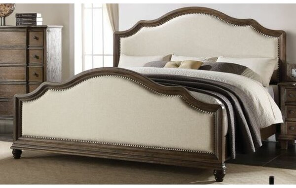 Putney Presswood Upholstered Standard Bed by One Allium Way