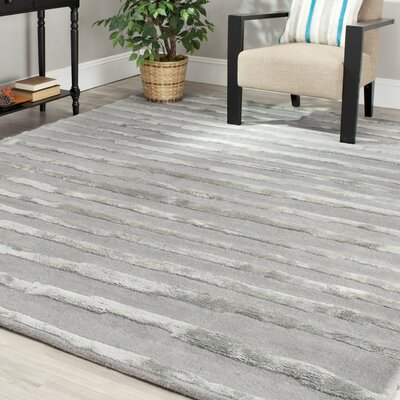Allmoderncaden Hand Tufted Wool Gray Area Rug Rug Size Rectangle 11 X 15 Dailymail