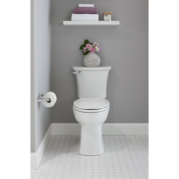 Edgemere Dual Flush Elongated Two-Piece Toilet by American Standard