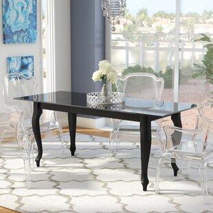 Affordable Price Alena Retro Dining Table ByRosdorf Park