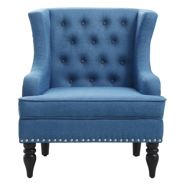 Paule Wingback Chair By Charlton Home