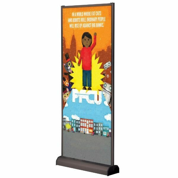 Freestanding Banner Stand by MT Displays