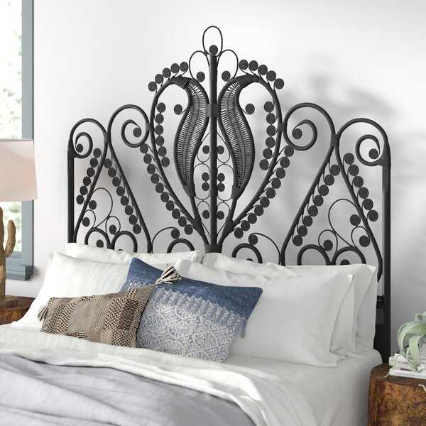 Patton Rattan Open Frame Headboard by Mistana