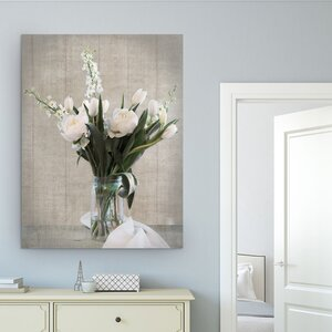 'Farmhouse Bouquet II' by Danita Delimont Photographic Print on Wrapped Canvas by Wexford Home