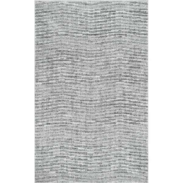 Bismark Gray Area Rug by Wade Logan