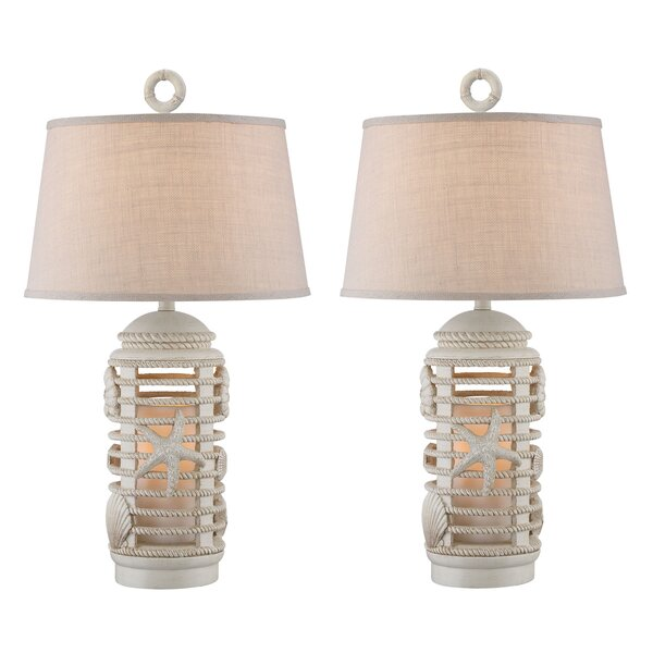 Mordecai Lantern 31 Table Lamp (Set of 2) by Highland Dunes