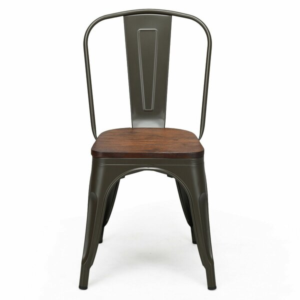 Valentine Solid Wood Dining Chair (Set of 4) by Williston Forge