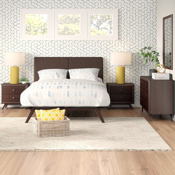 Arabella Queen Platform 5 Piece Bedroom Set by Modern Rustic Interiors