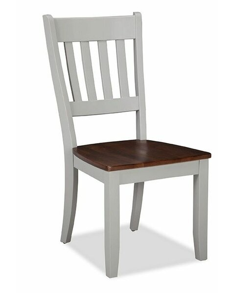 Stanton Slat Back Solid Wood Dining Chair (Set of 2) by Gracie Oaks