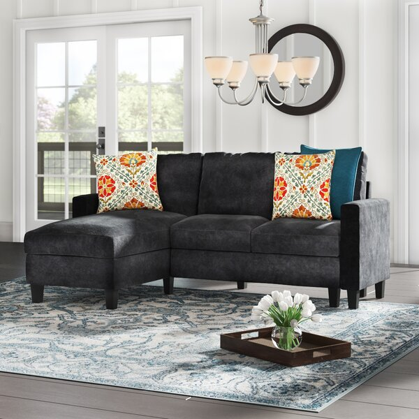 Weekend Shopping Iniguez Reversible Sectional by Charlton Home by Charlton Home