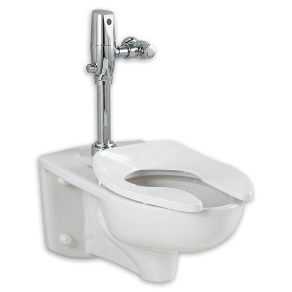 Afwall Ada Retrofit Universal Bowl Elongated Toilet Seat by American Standard
