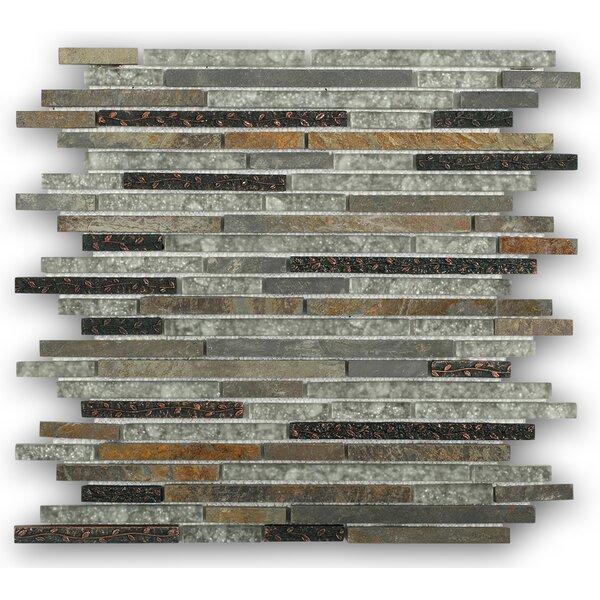 Paradise Random Sized Mixed Material Mosaic Tile in Utopia by Splashback Tile