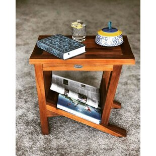 Looking for Burden Patio Teak Side Table By Millwood Pines